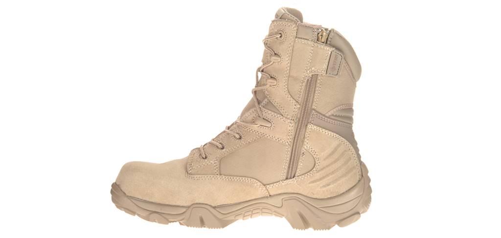 Bates Gx 8 Desert Composite Toe Side Zip Boot Authorized