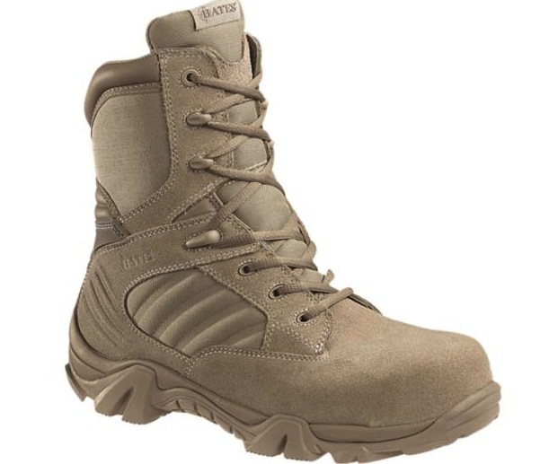 Bates Gx 8 Desert Composite Toe Side Zip Boot Authorized