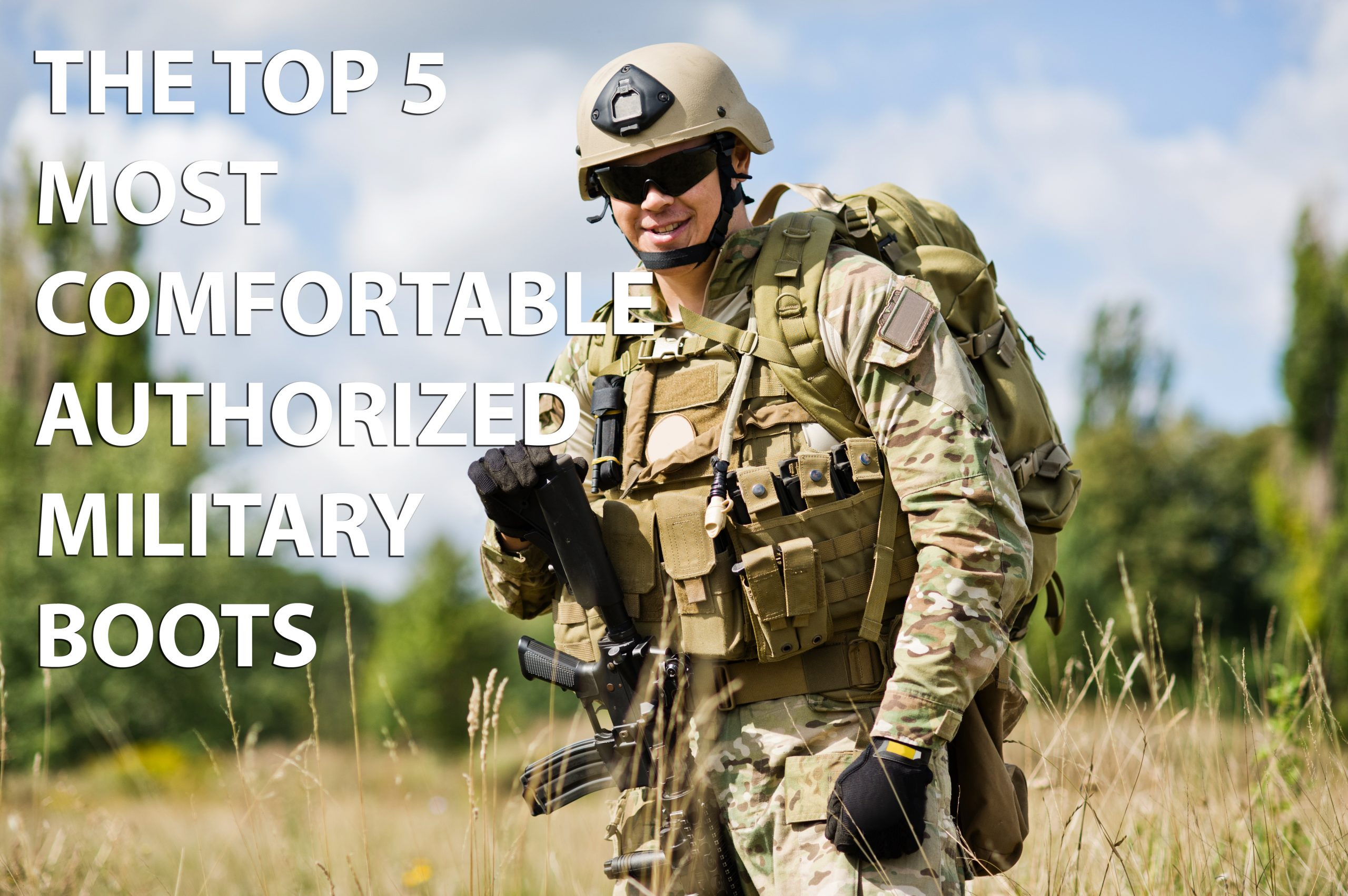 The top 5 most comfortable military boots 2018 authorized boots publicscrutiny Choice Image