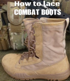 How to Lace Combat Boots | Authorized Boots