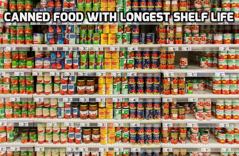 Best Foods With A Long Shelf Life