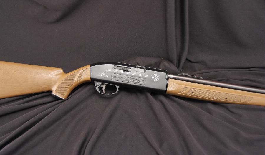 Crosman 2100 Classic Bolt Action  177 Air Rifle Review