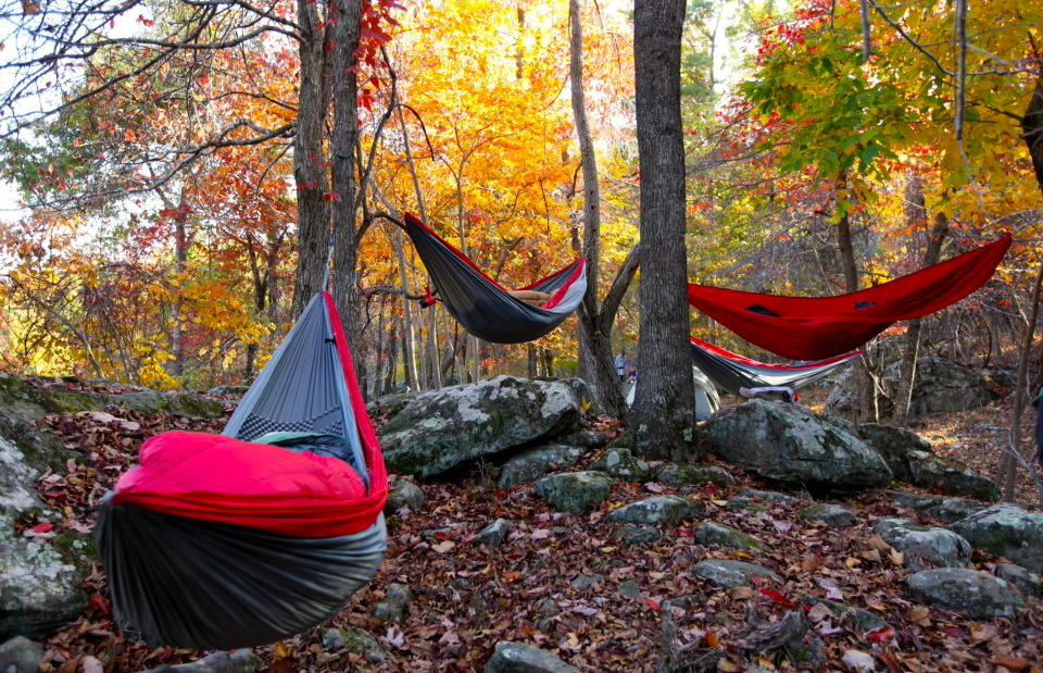 GEAR I LOVE: ENO SingleNest Hammock. I'm not suggesting you leave ...