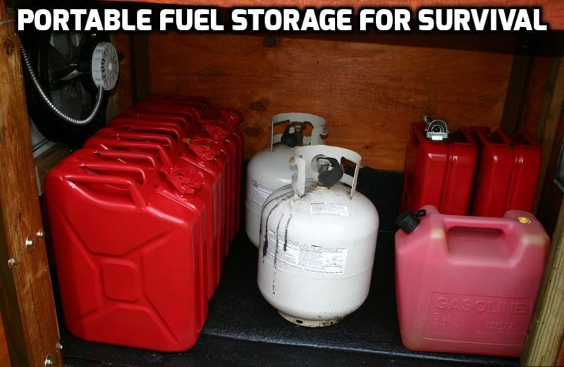Diesel Fuel Station >> Best Portable Fuel Storage for Survival 2017 | Authorized ...