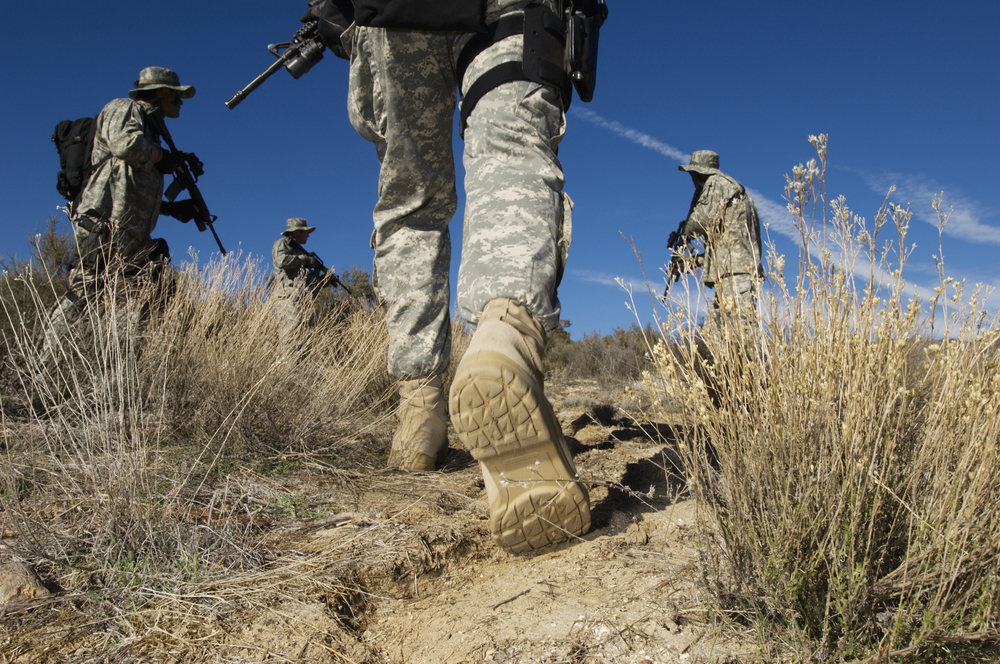 Authorized Army Boots for Deployment