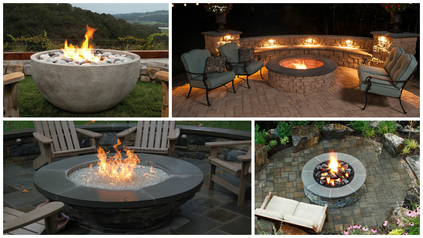 12 Fire Pit Design Ideas That You Can Build Authorized Boots
