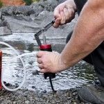 purifying water in the wilderness