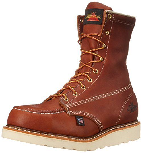 Thorogood Men Heritage 8 Inch Safety Toe Work Boot