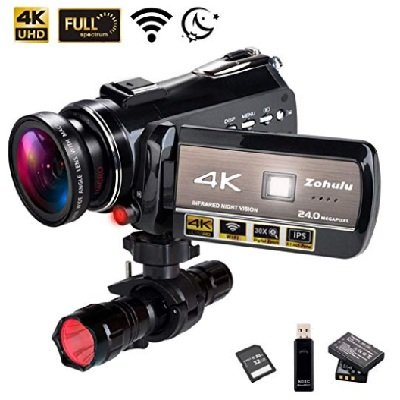 4K Wi-Fi Full-Spectrum Camcorders
